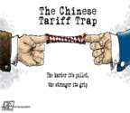 Steve Artley  Steve Artley's Editorial Cartoons 2018-04-06 trade war