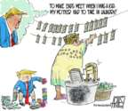 Steve Artley  Steve Artley's Editorial Cartoons 2018-10-06 Donald Trump taxes