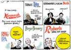 Jack Ohman  Jack Ohman's Editorial Cartoons 2018-10-12 Brett Kavanaugh