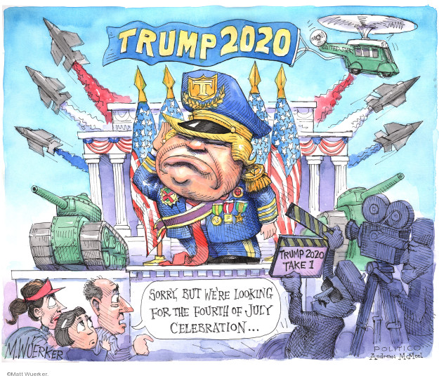 Trump 2020. Trump 2020 Take 1. Sorry, but were looking for the Fourth of July celebration �