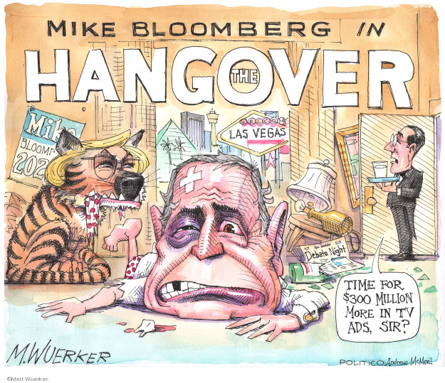 Mike Bloomberg in The Hangover. Las Vegas. Time for $300 million more in TV ads, sir?