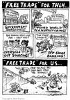Matt Wuerker  Matt Wuerker's Editorial Cartoons 2003-10-22 trade