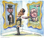 Matt Wuerker  Matt Wuerker's Editorial Cartoons 2009-02-04 Lyndon Baines Johnson