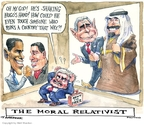 Matt Wuerker  Matt Wuerker's Editorial Cartoons 2009-04-21 Saudi Arabia