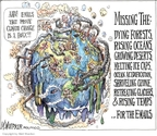 Matt Wuerker  Matt Wuerker's Editorial Cartoons 2009-12-08 climate change
