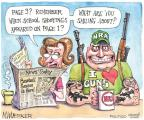 Matt Wuerker  Matt Wuerker's Editorial Cartoons 2012-04-12 shooting