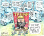 Matt Wuerker  Matt Wuerker's Editorial Cartoons 2013-08-14 Donald Trump