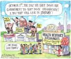 Matt Wuerker  Matt Wuerker's Editorial Cartoons 2013-10-01 shutdown