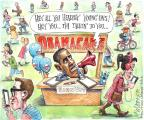 Matt Wuerker  Matt Wuerker's Editorial Cartoons 2013-11-18 distraction