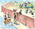 Matt Wuerker  Matt Wuerker's Editorial Cartoons 2014-11-21 border fence