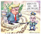 Matt Wuerker  Matt Wuerker's Editorial Cartoons 2017-02-16 Donald Trump taxes