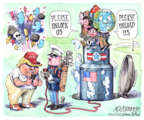Matt Wuerker  Matt Wuerker's Editorial Cartoons 2017-08-11 international politics