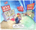 Matt Wuerker  Matt Wuerker's Editorial Cartoons 2018-06-27 trade
