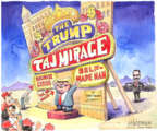 Matt Wuerker  Matt Wuerker's Editorial Cartoons 2018-10-04 Donald Trump taxes