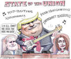 Matt Wuerker  Matt Wuerker's Editorial Cartoons 2019-02-06 speaker
