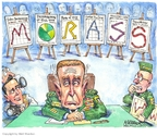 Matt Wuerker  Matt Wuerker's Editorial Cartoons 2007-09-13 Congress and Iraq