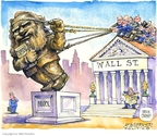 Matt Wuerker  Matt Wuerker's Editorial Cartoons 2008-09-25 bank regulation