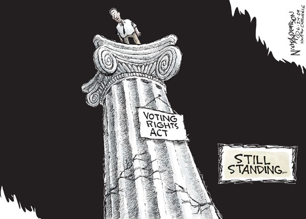 Voting Rights Act. Still standing �