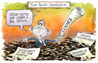 Nick Anderson  Nick Anderson's Editorial Cartoons 2005-01-16 democracy