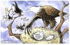 Nick Anderson  Nick Anderson's Editorial Cartoons 2004-04-06 democracy