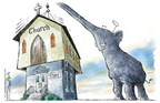 Nick Anderson  Nick Anderson's Editorial Cartoons 2005-04-26 amendment