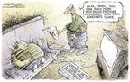 Nick Anderson  Nick Anderson's Editorial Cartoons 2004-05-06 political system