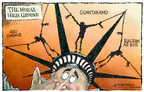 Nick Anderson  Nick Anderson's Editorial Cartoons 2005-06-23 air base