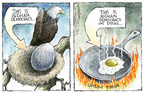 Nick Anderson  Nick Anderson's Editorial Cartoons 2005-07-17 democracy