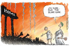 Nick Anderson  Nick Anderson's Editorial Cartoons 2005-09-12 government distraction