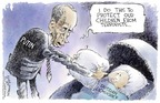 Nick Anderson  Nick Anderson's Editorial Cartoons 2004-09-15 democracy