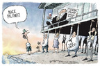 Nick Anderson  Nick Anderson's Editorial Cartoons 2005-12-06 Hurricane Katrina aftermath