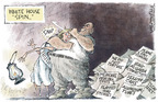 Nick Anderson  Nick Anderson's Editorial Cartoons 2005-12-13 freedom of speech