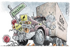 Nick Anderson  Nick Anderson's Editorial Cartoons 2006-01-19 congressional scandal