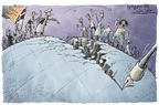 Nick Anderson  Nick Anderson's Editorial Cartoons 2006-02-10 freedom of speech