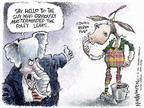 Nick Anderson  Nick Anderson's Editorial Cartoons 2006-10-13 distraction