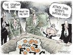 Nick Anderson  Nick Anderson's Editorial Cartoons 2006-11-02 distraction