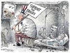 Nick Anderson  Nick Anderson's Editorial Cartoons 2007-02-22 Iraq war
