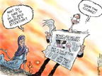 Nick Anderson  Nick Anderson's Editorial Cartoons 2007-08-03 distraction