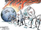 Nick Anderson  Nick Anderson's Editorial Cartoons 2007-12-14 climate change