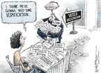 Nick Anderson  Nick Anderson's Editorial Cartoons 2008-10-12 corruption