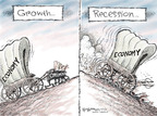 Nick Anderson  Nick Anderson's Editorial Cartoons 2008-10-31 consumer spending