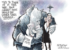 Nick Anderson  Nick Anderson's Editorial Cartoons 2009-02-04 presidential cabinet