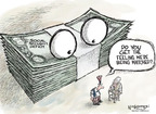 Nick Anderson  Nick Anderson's Editorial Cartoons 2009-09-30 dollar