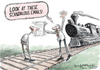 Nick Anderson  Nick Anderson's Editorial Cartoons 2009-12-08 distraction