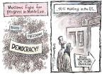 Nick Anderson  Nick Anderson's Editorial Cartoons 2011-03-11 democracy