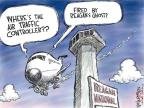 Nick Anderson  Nick Anderson's Editorial Cartoons 2011-03-25 air traffic control