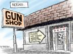 Nick Anderson  Nick Anderson's Editorial Cartoons 2012-08-15 weaponry