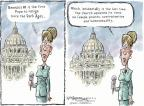 Nick Anderson  Nick Anderson's Editorial Cartoons 2013-02-12 religion contraception