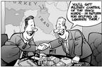 Kirk Anderson  Kirk Anderson's Editorial Cartoons 2003-02-07 international relations
