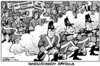 Kirk Anderson  Kirk Anderson's Editorial Cartoons 2003-03-22 democracy